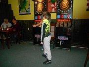 V pivnici U Vodníka se uskutečnil další ročník tradičního šipkového turnaje.