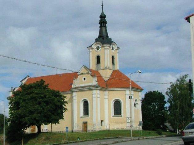 Kostel v Chodové Plané.