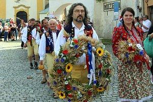 Tradiční Dožínky Plzeňského kraje se v letošním roce konaly v Tachově.
