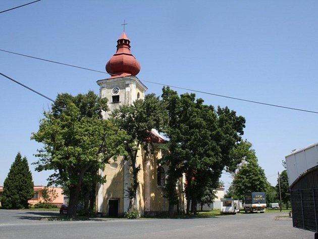 Kostel sv. Anny v Částkově.