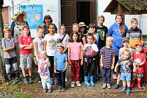 Děti v Labuti hledaly Lipovou vílu.