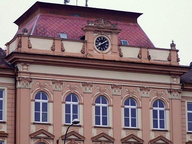 Budova SOŠ ve Stříbře.