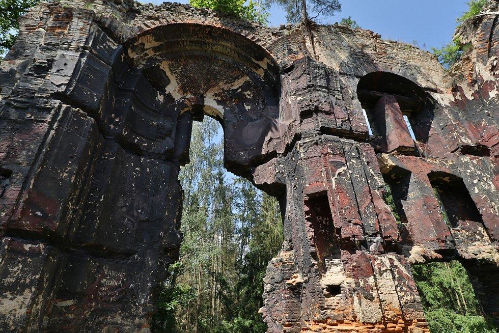Svatý Jan u Kočova je zaniklou obcí, kde se v kostele přd dvaceti lety natáčela pohádka Z pekla štěstí 2.