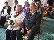 Ve Starém Sedlišti se uskutečnila diamantová svatba manželů Tichých.