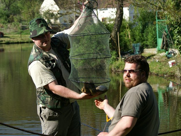 V Darmyšli se konaly v sobotu rybářské závody.