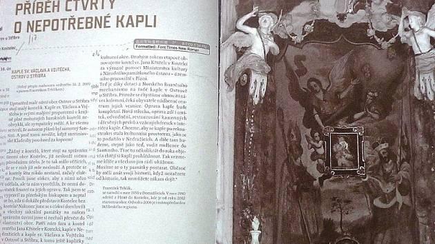 Repro z knihy Práce jako na kostele.
