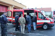 Hasiči v Boru převzali nové vozidlo