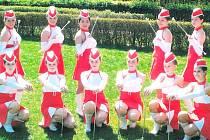 Tachovské mažoretky se zúčastnily oblastního šampionátu, který se konal v Kladně.