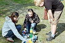 Dvanáctého ročníku Globe Games se ve Stříbře zúčastnilo dvě stě padesát dětí z Česka i zahraničí.