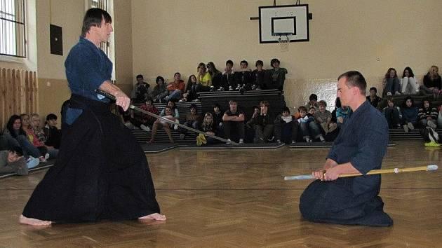 Tělocvična posloužila samurajům