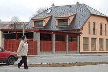 Nová budova komunitního centra bude sloužitobyvatelům Tachova již příští měsíc.
