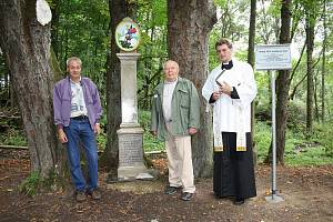 Z odhalení pomníku v Bohuslavi
