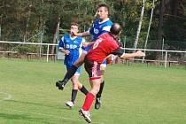 Ve fotbalové 1. B třídě porazily Lázně Mrákov 2:1 .