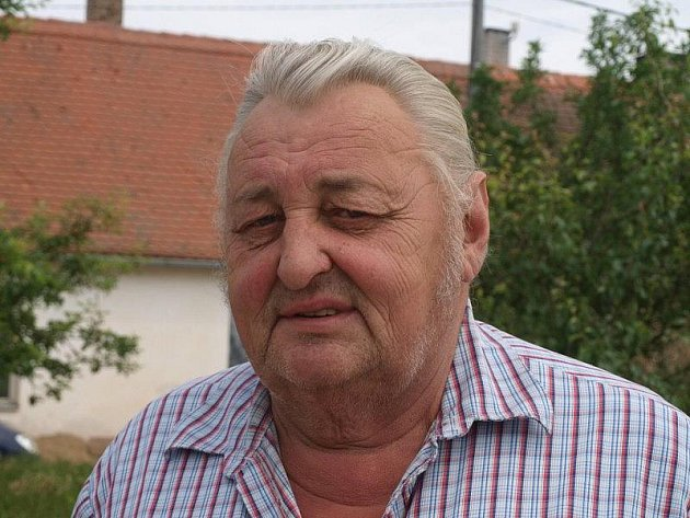 Velitel SDH Trpísty Stanislav Kazdík