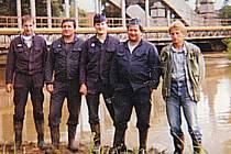 Studánečtí pomáhali při povodních na Moravě.