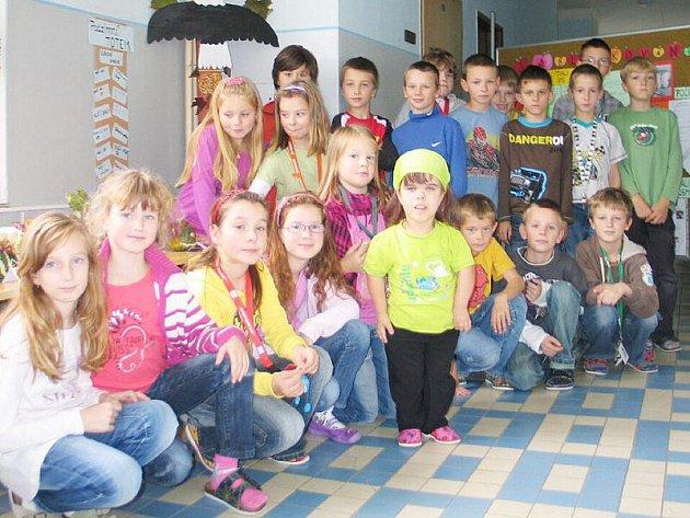Třetí třída ZŠ Gagarinova Stříbro.