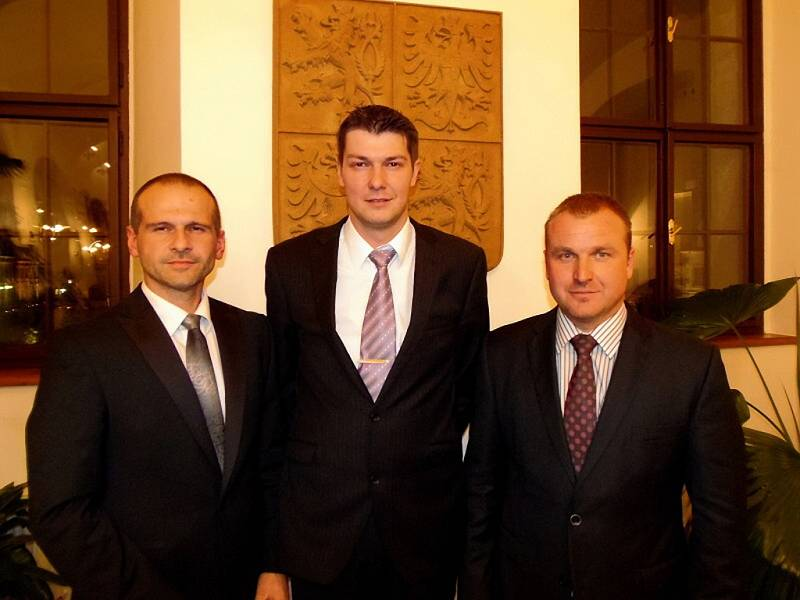 Z ustavujícího zastupitelstva ve Stříbře