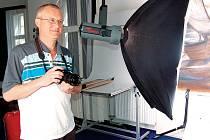 Fotograf Bohumír Kráčmar.