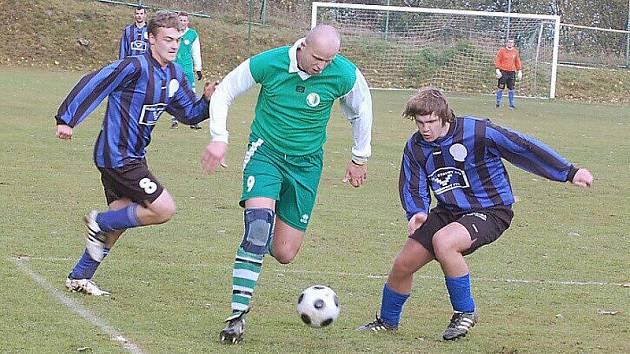 Fotbalové utkání: T. Přimda – FC Horš. Týn 1:3.