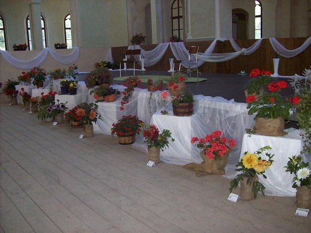 Další ročník reprezentační výstavy květin o víkendu uspořádal Český zahrádkářský svaz v jízdárně na Světcích