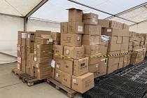Dodávka ochranných pomůcek na Tachovsko