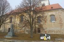Kostel sv. Markéty v Erpužicích.