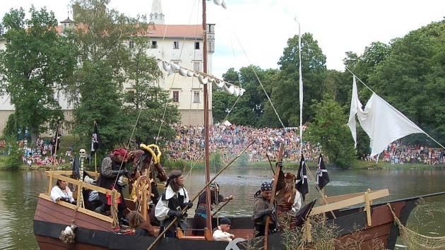 Zámecké historické slavnosti v Boru