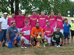Z letního fotbalového turnaje Sokola Damnov.