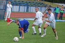 Fotbalová divize: Mužstvo FK Tachov po výbuchu v Malši–Roudné porazilo na městském stadionu FK Hořovicko 3:0 (0:0)