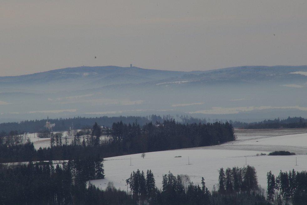 Topolový kříž na Boněnovském vrchu.