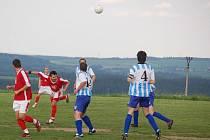 Fotbalová 1. B třída: Jiskra Bezdružice – Sparta Dlouhý Újezd 3:1 (2:0)