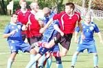 V osmém kole 1. A třídy skončil zápas Chodského Újezdu se St. Luby bez branek.