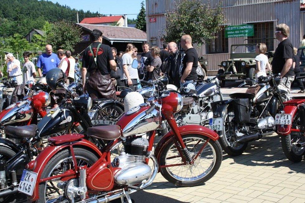 Dvanáctý ročník Jízdy Saši Kolovrata se v sobotu konal na Přimdě