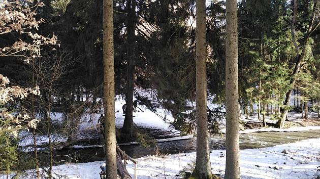 Cestou kolem Hadovky.