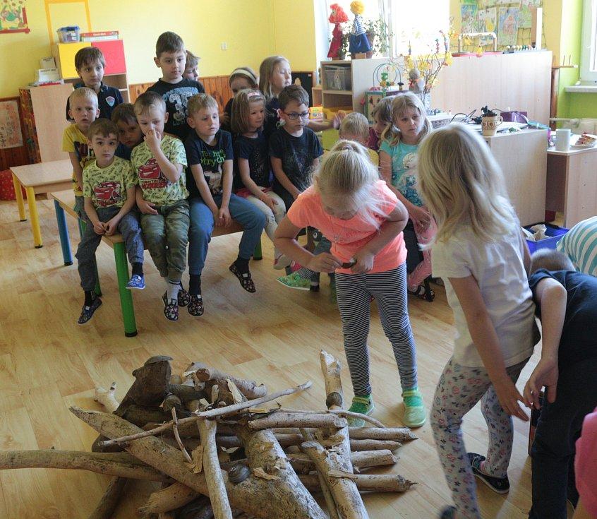 Z besedy s dětmi ve školce Prokopa Velikého.