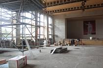 Objekt bývalého kasina město Přimda rekonstruovalo na kulturní sál, zázemí pro technické služby a sedm nových bytů.