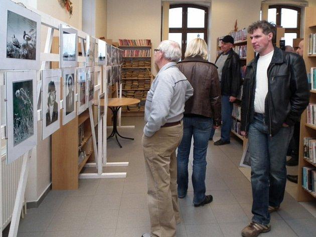 VÝSTAVU ČERNOBÍLÝCH fotografií mohou zhlédnout zájemci ve stříbrské knihovně.
