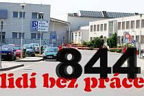 Budova stříbrské továrny Alcoa Fujikura Czech, kde vyrábí kabelové svazky pro silniční vozidla.