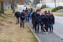 Horníci vítali nový rok pochodem po jámách.