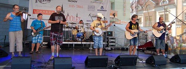 kapela Wyjou před dvěma lety vystoupila také vrámci Historických slavností.