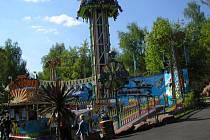 Zájezd do zábavního parku v německém Geiselwindu uspořádal ke Dni dětí Městský úřad v Přimdě