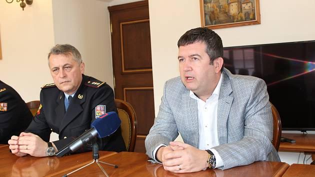 Ministr vnitra ve Stříbře.