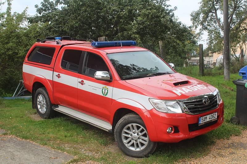 Obec hasiče podporuje, letos to bylo zhruba částkou půl milionu korun.