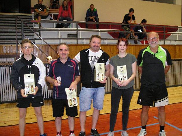 V Tachově se uskutečnil další ročník turnaje ve stolním tenisu, Tachovská pálka.