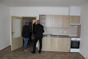 Nové byty s pečovatelskou službou v Tachově.