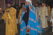 Pravoslavné věřící pozdravil metropolita této církve.