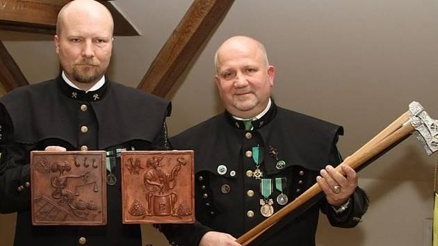 Z oslav deseti let hornického spolku Stříbro.