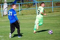 Fotbalisté FK Tachov v neděli prohráli v I.B třídě na hřišti Sokola Postřekov z domažlického okresu 1:2, a tak byla na pátém řádku Tip ligy správným tipem jednička.