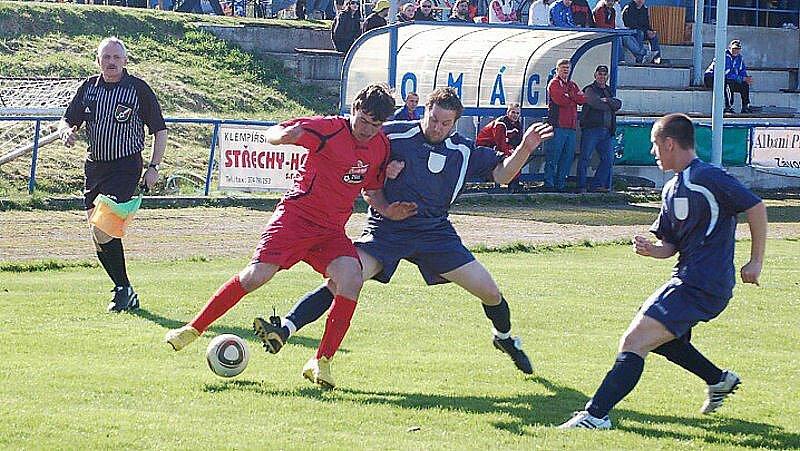 Fotbal–II. třída: Bor - Záchlumí