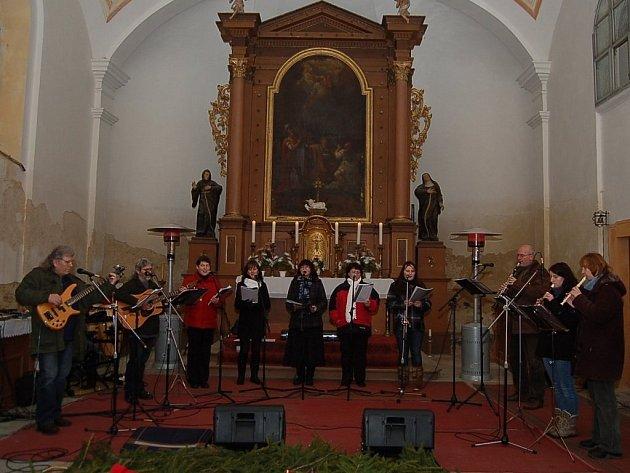V Halži zněly vánoční melodie